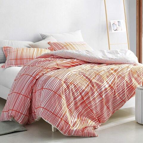 Restyle Orange - Oversized Duvet Cover - 100% Cotton Bedding