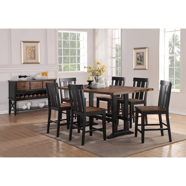 Counter Height Dining Sets On Sale: Shop Goodman 7 Piece Counter Height Dining Set