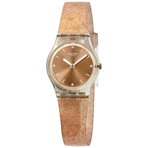 Swatch Pinkindescent Too Silicone Ladies Watch LK354D
