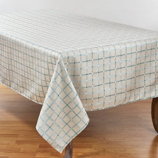 Link to Box Check Design Tablecloth Similar Items in Table Linens & Decor