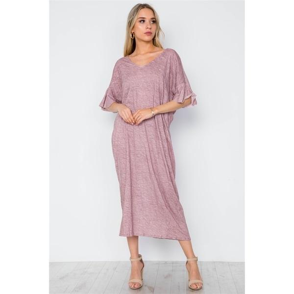 JED Women's Twist Knot Resort Maxi Dress