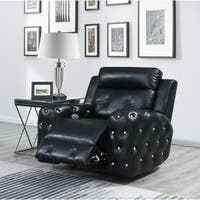 Global Furniture Usa Black Power Recliner