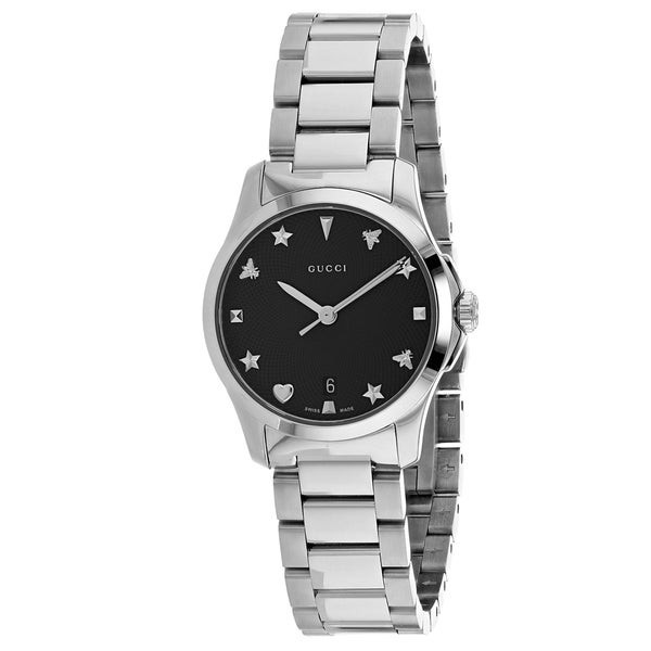 6c927056a2d Shop Gucci Women s G-Timeless Watch - YA126573 - N A - Free Shipping Today  - Overstock - 27078147