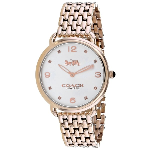 7d300fa2f164b Shop Coach Women's Delancey Slim Watch - 14502787 - N/A - Free Shipping  Today - Overstock - 27078148