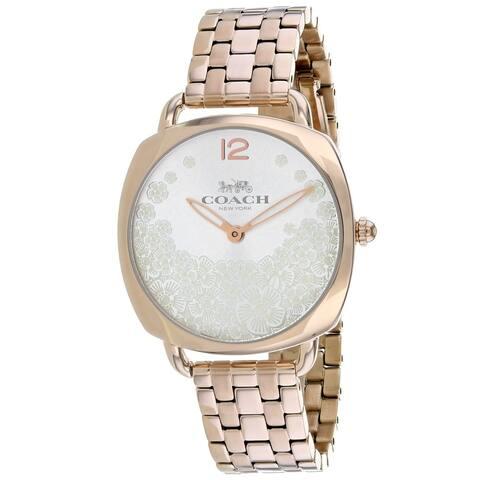 Coach Women's 14503015 'Tatum Slim' Rose-Tone Stainless Steel Watch