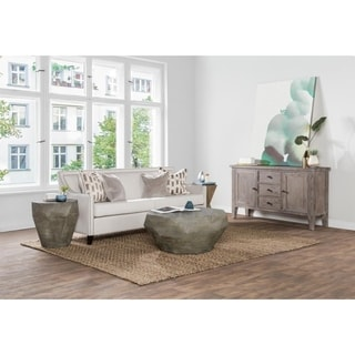 Carson Carrington Giornico Reclaimed Elm Coffee Table