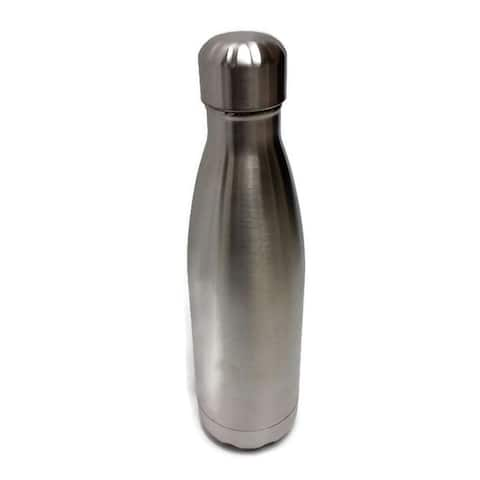 Elegance Water Bottle Stainless Steel - Silver Color
