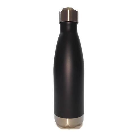 Elegance Water Bottle Stainless Steel - Black Color