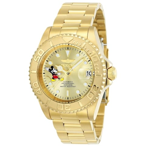 Invicta Men's Disney Limited Edition 24756 Gold Watch