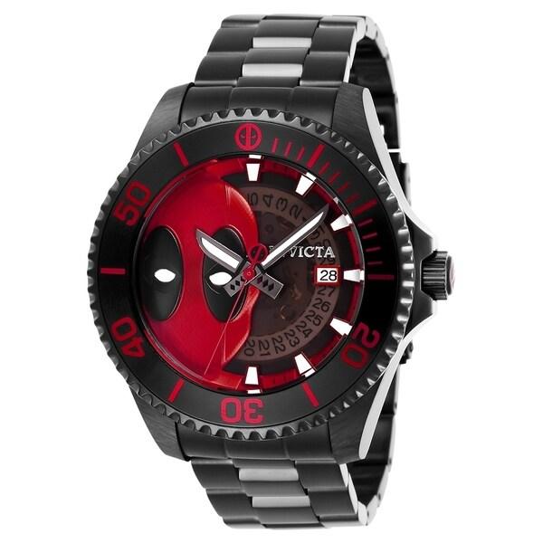 Invicta Men's Marvel 27153 Black Watch