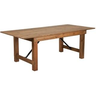 "7'x40"" Folding Farm Table"