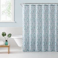 Freshee Shower Curtain Dotted Geo