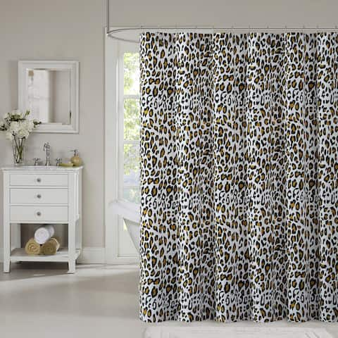 Lemon & Spice Nala Printed 72 x 72 Shower Curtain