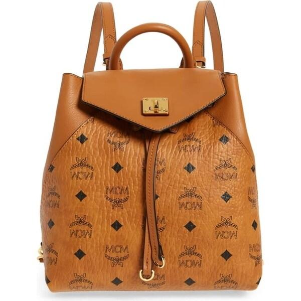 b26617bf6b Shop MCM Essential Visetos Original Backpack Small - Free Shipping ...
