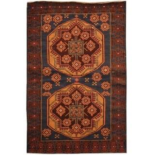 Handmade Balouchi Wool Rug (Afghanistan) - 2'10 x 4'7