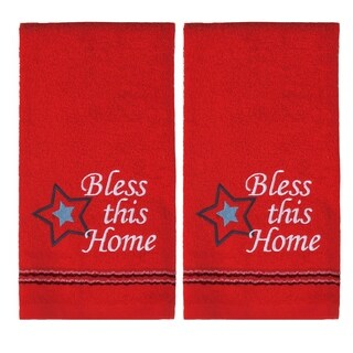 Bless This Home 2 Pc Hand Towel Set