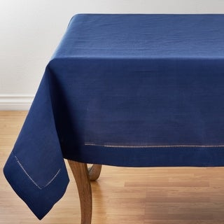 Link to Classic Hemstitch Border Tablecloth Similar Items in Table Linens & Decor