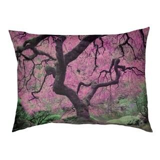 Justin Duane Pink Japanese Maple Tree Dog Bed
