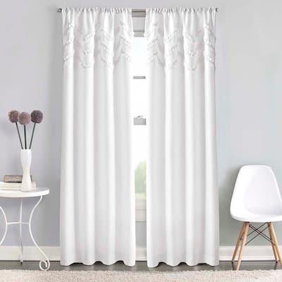 63 Inches Chevron Curtains