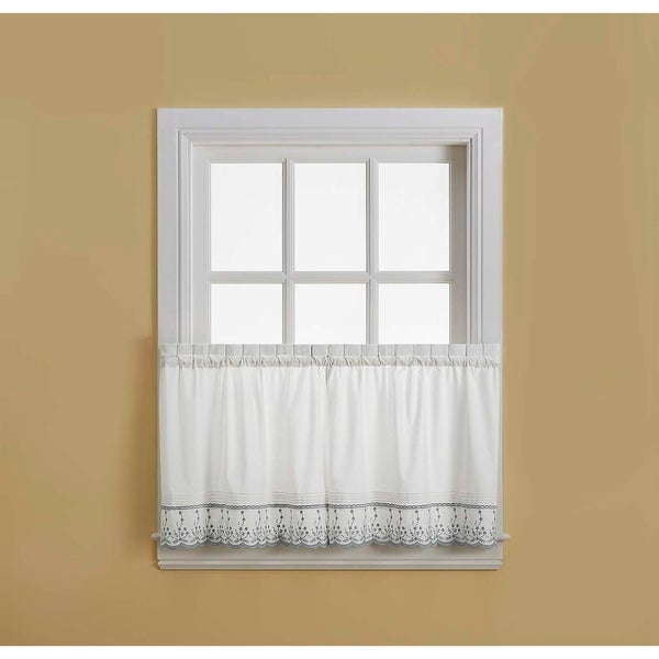 Abby Tailored Valance and Tier Curtain Collection
