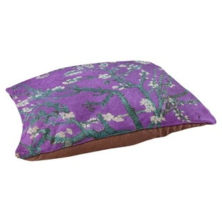Vincent Van Gogh Almond Blossom in Purple and Blue Dog Bed