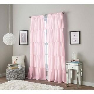 Flounced Poletop Curtain Collection