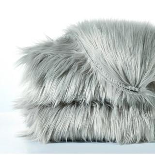 "Serenta Shag Sheepskin Silky Smooth Faux-Fur Area Rug Sofa Couch Décor - 24"" x 36"""