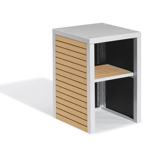 Oxford Garden Travira Modular Valet Hutch - Tekwood Natural