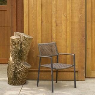 Oxford Garden Eiland Mocha Composite Cord Armchair (Set of 2)