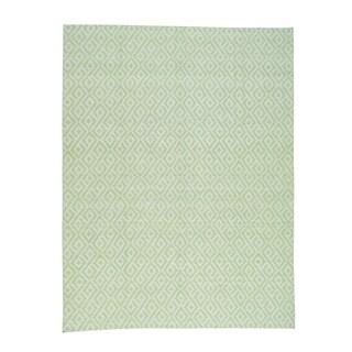 "Shahbanu Rugs Hand Woven Reversible Flat Weave Durie Kilim Oriental Rug (10'0"" x 14'0"") - 10'0"" x 14'0"""