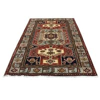 "Shahbanu Rugs Pure Wool Hand-Knotted New Persian Malayer Oriental Rug (4'7"" x 6'8"") - 4'7"" x 6'8"""