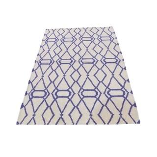 "Shahbanu Rugs Reversible Durie Kilim Hand Woven Flat Weave Oriental Rug (3'1"" x 5'2"") - 3'1"" x 5'2"""