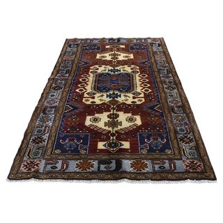"Shahbanu Rugs New Persian Malayer Pure Wool Hand-Knotted Oriental Rug (4'5"" x 6'6"") - 4'5"" x 6'6"""