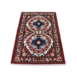 """Shahbanu Rugs New Persian Lilahan Pure Wool Hand-Knotted Oriental Rug (2'9"""" x 4'0"""") - 2'9"""" x 4'0"""""""