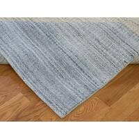 "Shahbanu Rugs Modern Gabbeh Wool And Silk Hand-Loomed Oriental Rug (9'4"" x 12'0"") - 9'4"" x 12'0"""