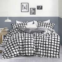 Chroma - Black and White - Oversized Duvet Cover - 100% Cotton Bedding