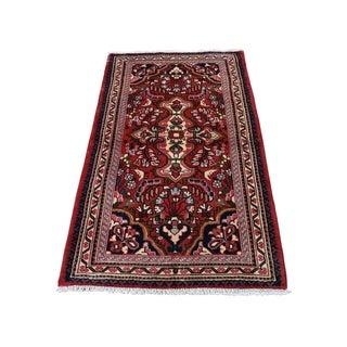 """Shahbanu Rugs New Persian Lilahan Pure Wool Hand-Knotted Oriental Rug (2'6"""" x 4'6"""") - 2'6"""" x 4'6"""""""