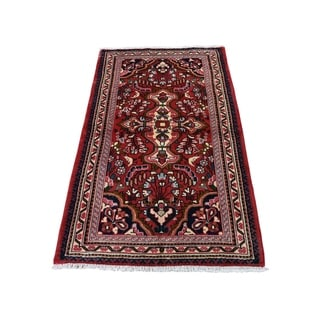 "Shahbanu Rugs New Persian Lilahan Pure Wool Hand-Knotted Oriental Rug (2'6"" x 4'6"") - 2'6"" x 4'6"""