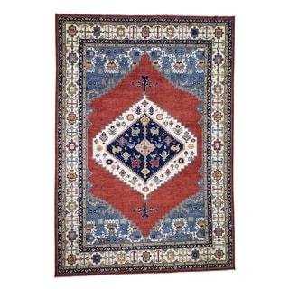 "Shahbanu Rugs Bakshaish Design Peshawar Hand-Knotted Pure Wool Oriental Rug (10'0"" x 14'3"") - 10'0"" x 14'3"""