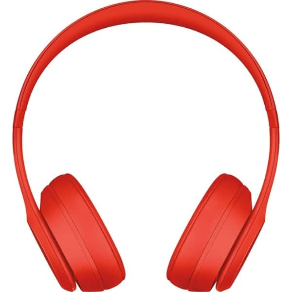 Shop Beats By Dr Dre Beats Solo 3 Wireless On Ear Headphones Red Overstock 27092975