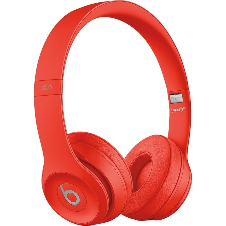 Beats by Dr. Dre Beats Solo 3 Wireless On-Ear Headphones - Red Red
