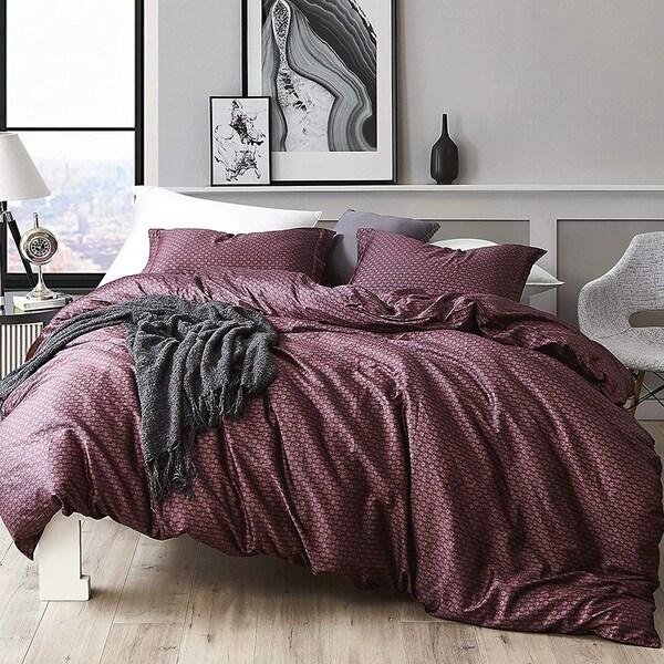 Malbec - Oversized Duvet Cover - 100% Cotton Bedding