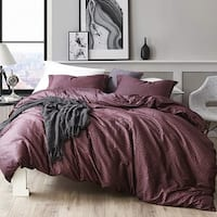 Malbec - Oversized Duvet Cover - 100% Cotton Bedding