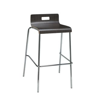 Porch & Den Taurus Bent Frame Low Back Bar Stool
