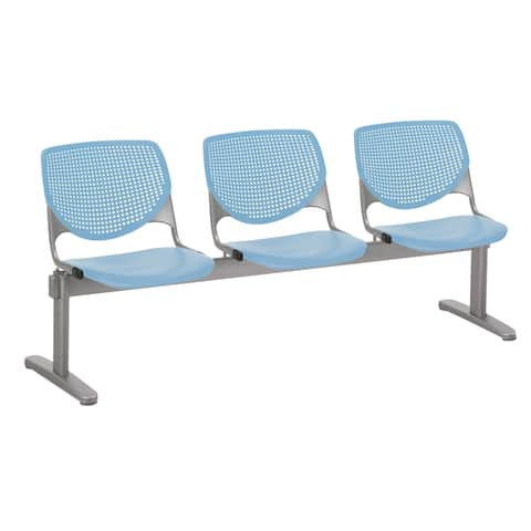 KFI KOOL 3 Seat Waiting Room Chair - 3 seats - 3 seats