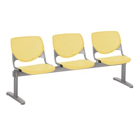 KFI KOOL 3 Seat Waiting Room Chair - 3 seats - 3 seats