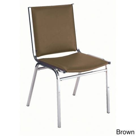 KFI 410 Armless Stacking Chair