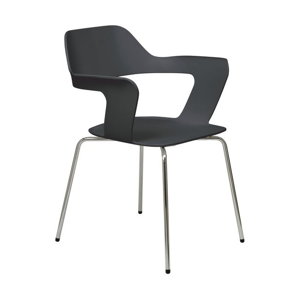 KFI Julep Stack Chair with Flex Poly Shell