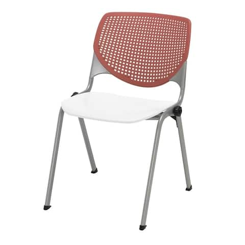 KFI KOOL Poly Stack Chair with Perforated Back
