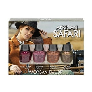Link to Morgan Taylor 4-piece Mini Nail Polish Kit African Safari Similar Items in Nail Care